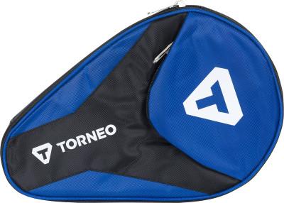 Чехол для 1 ракетки TorneoАксессуары<br>Защитный чехол для ракетки для настольного тенниса. Оснащен карманом для мячей. Отлично подойдет как начинающим, так и профессиональным игрокам.
