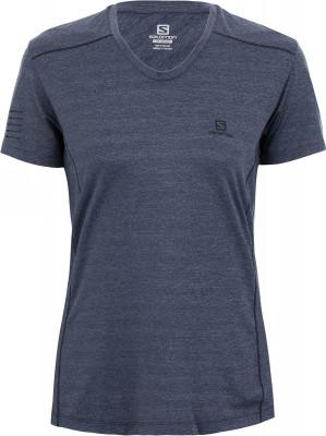 Футболка женская Salomon Xa, размер 48-50Футболки<br>Легкая воздухопроницаемая футболка salomon xa - оптимальный выбор для пробежки.