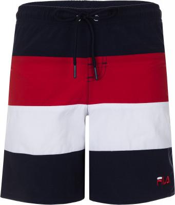 Шорты плавательные для мальчиков Fila, размер 164Шорты<br>Удобные плавательные шорты для мальчиков fila - отличный выбор для отдыха на пляже.