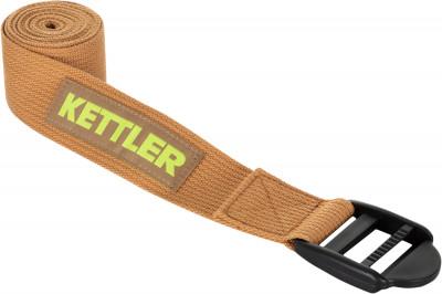 Ремень для йоги KettlerАксессуары<br>Ремень для йоги от kettler сделает растяжку разнообразнее и эффективнее. Модель выполнена из прочного экологичного материала.