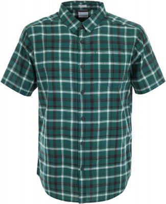 Рубашка мужская Columbia Under Exposure YD, размер 52-54Рубашки<br>Рубашка columbia с коротким рукавом - отличный выбор для поездок и путешествий. Натуральные материалы модель выполнена из легкого воздухопроницаемого хлопка.