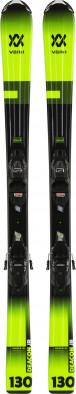 Горные лыжи детские + крепления Volkl DEACON JR. + 4.5 VMotion Jr.