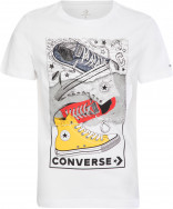 Футболка для мальчиков Converse Mixed Media Sneaker Stack