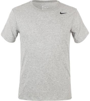 Футболка мужская Nike Dri-FIT CottonКлассическая футболка для тренинга nike dri-fit cotton. Отведение влаги ткань с технологией nike dri-fit для превосходного влагоотвода.<br>Пол: Мужской; Возраст: Взрослые; Вид спорта: Тренинг; Технологии: Nike Dri-FIT; Производитель: Nike; Артикул производителя: 706625-063; Страна производства: Малайзия; Материалы: 60 % хлопок, 40 % полиэстер; Размер RU: 46-48;