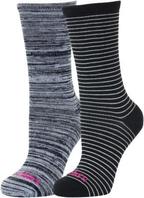 Купить со скидкой Носки женские Skechers, 2 пары, размер 35-39