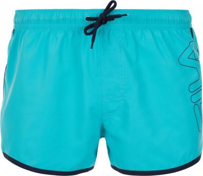 Шорты плавательные мужские Fila, размер 52Плавки, шорты плавательные<br>Мужские плавки-шорты от fila - удачный выбор для бассейна. Свобода движений продуманный крой и эластичная ткань не сковывают движения.
