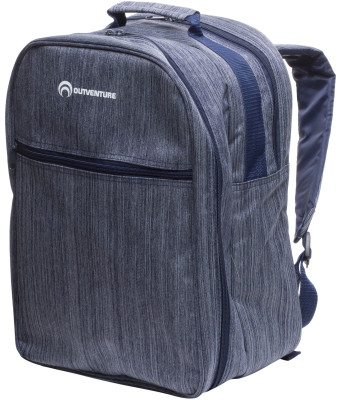 Рюкзак пикниковый OutventureПикниковый рюкзак на 3 персоны. Вилки, ложки и ножи изготовлены из стали, посуда - из пластика.<br>Размеры (дл х шир х выс), см: 28 х 22 х 40; Вид спорта: Кемпинг, Походы; Производитель: Outventure; Артикул производителя: IE6401Z3; Срок гарантии: 2 года; Страна производства: Китай; Размер RU: Без размера;