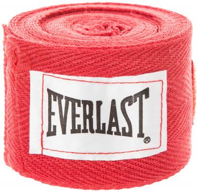 Бинт Everlast, 2,75 м, 2 шт.Бинт используется для защиты рук от травм. Петля и липучка на концах бинта обеспечивают надежную фиксацию бинты поставляются в комплекте из 2 штук.<br>Состав: 100% хлопок; Вид спорта: Бокс, ММА; Производитель: Everlast; Артикул производителя: 4455RPU; Срок гарантии: 30 дней; Размер RU: 2,75 м;