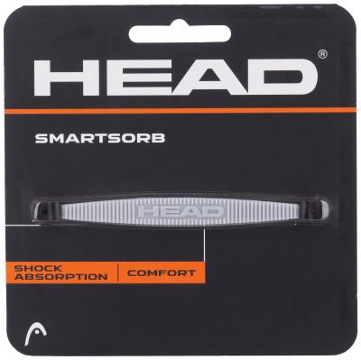 Виброгаситель Head SmartsorbВиброгаситель в виде полоски, зауженной на концах, поглощает вибрации и обеспечивает комфорт во время удара.<br>Материалы: Полиуретан; Вид спорта: Теннис; Производитель: Head; Артикул производителя: 288011; Срок гарантии: 1 год; Страна производства: Тайвань; Размер RU: Без размера;