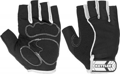 Перчатки для фитнеса Kettler BasicПерчатки kettler созданы для защиты рук во время тренировок от натирания и травм при занятиях на силовых тренажерах и со свободными весами.<br>Пол: Мужской; Возраст: Взрослые; Вид спорта: Фитнес; Состав: 97 % полиэстер, 3 % хлопок; Производитель: Kettler; Артикул производителя: 7372-170; Срок гарантии: 2 года; Страна производства: Китай; Размер RU: L;