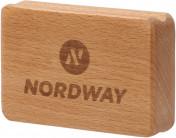 Щетка для обработки лыж Nordway