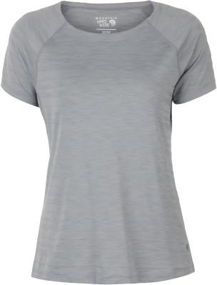 Футболка женская Mountain Hardwear Mighty StripeТехнологичная футболка для походов и активного отдыха на природе от mhw. Отведение влаги технология wick. Q обеспечивает эффективный влагоотвод.<br>Пол: Женский; Возраст: Взрослые; Вид спорта: Походы; Длина по спинке: 69 см; Защита от УФ: Да; Покрой: Приталенный; Плоские швы: Да; Светоотражающие элементы: Нет; Дополнительная вентиляция: Нет; Технологии: Wick.Q; Производитель: Mountain Hardwear; Артикул производителя: 1708341088L; Страна производства: Китай; Материалы: 91 % полиэстер, 9 % эластан; Размер RU: 48;