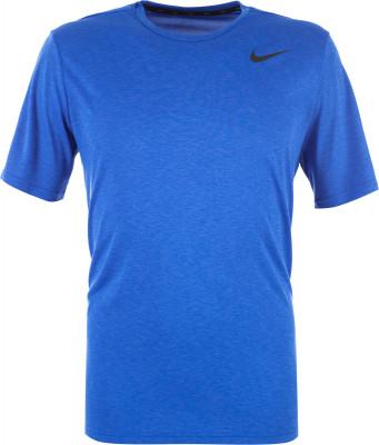 Футболка мужская Nike BreatheПрактичная футболка nike breathe - отличный выбор для тренинга. Отведение влаги ткань с технологией dri-fit отводит влагу от кожи, обеспечивая комфорт во время тренировки.<br>Пол: Мужской; Возраст: Взрослые; Вид спорта: Тренинг; Покрой: Прямой; Материалы: 100 % полиэстер; Технологии: Nike Dri-FIT; Производитель: Nike; Артикул производителя: 832835-461; Страна производства: Шри-Ланка; Размер RU: 54-56;