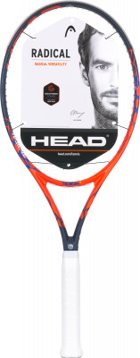 Ракетка для большого тенниса Head Graphene Touch Radical SРакетки<br>Облегченная ракетка с большим размером головы от head, рассчитанная на широкий круг любителей тенниса.