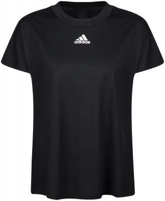 Футболка женская adidas Pleated, размер 54-56