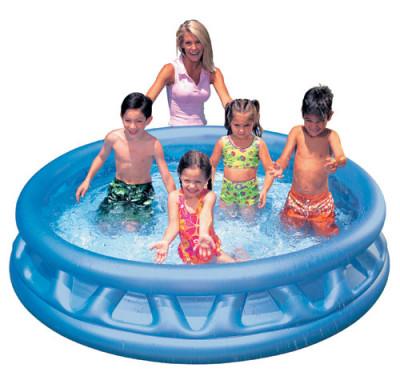 Intex VD58431Надувной бассейн размером 188х46 см с оригинальным дизайном придется по душе детям и позволит отлично провести время в жаркую погоду! Бассейн изготовлен из прочного винила и<br>Объем: 790 л; Материалы: Поливинилхлорид; Водоизмещение (литры): 790; Размеры (дл х шир х выс), см: 188 х 46; Размер упаковки: 35,56 х 8,89 х 30,48 см; Вес, кг: 2,86; Вид спорта: Кемпинг; Производитель: Intex; Артикул производителя: ВД58431; Срок гарантии: 90 дней; Страна производства: Китай; Размер RU: Без размера;