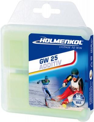 Мазь скольжения твердая для лыж и сноубордов HOLMENKOL AdditivHigh FluorGW25