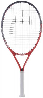 Ракетка для большого тенниса детская Head Novak 25Детская ракетка novak 19 для ребят 8-10 лет, которые только начинают знакомство с теннисом.<br>Вес (без струны), грамм: 240; Размер головы: 680 кв. см; Длина: 63,5 см; Материалы: Алюминий; Наличие струны: В комплекте; Наличие чехла: В комплекте; Вид спорта: Большой теннис; Технологии: Damp+; Производитель: Head; Артикул производителя: 233607; Срок гарантии: 1 год; Страна производства: Китай; Размер RU: Без размера;