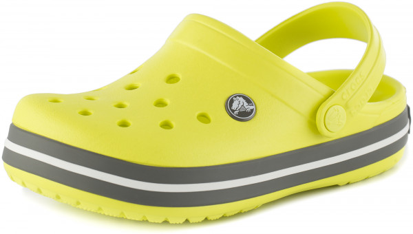 Crocs Clog avec talons Courroie Crocband Sport Cord Clog Kids Oyster Croslite normal