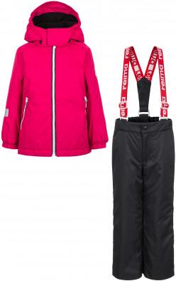 Комплект утепленной одежды для девочек Reima