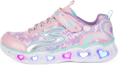 Кроссовки для девочек Skechers Heart Lights Love Lights, размер 33