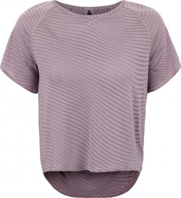 Футболка женская Odlo Alma Natural, размер 40-42Футболки<br>Комфортная футболка из мягкого трикотажа от odlo - отличный выбор для пробежки. Свобода движений продуманный крой обеспечивает свободу движений.