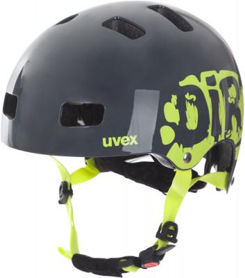 Шлем велосипедный детский UvexНадежный и прочный детский шлем с конструкцией hardshell подойдет для катания на велосипеде, роликах или скейтборде.<br>Конструкция: Hardshell; Вентиляция: Принудительная; Регулировка размера: Да; Тип регулировки размера: Поворотное кольцо IAS; Материал внешней раковины: ABS пластик; Материал внутренней раковины: Вспененный полистирол; Материал подкладки: Полиэстер; Сертификация: EN 1078; Технологии: FAS, IAS 3.0, monomatic; Вес, кг: 0,35; Пол: Мужской; Возраст: Дети; Производитель: Uvex; Артикул производителя: S4148191117; Срок гарантии: 6 месяцев; Страна производства: Китай; Размер RU: 55-58;