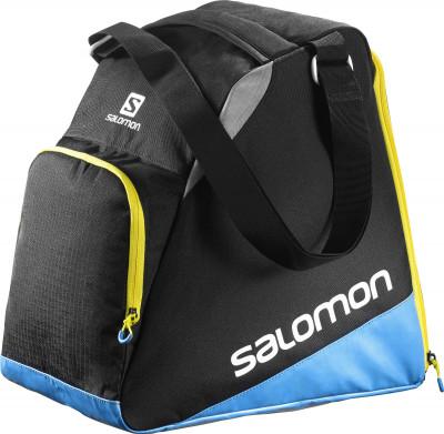 Сумка для ботинок Salomon Extend GearbagВместительная сумка для горнолыжных ботинок из стопроцентного полиэстера. Помимо основного отделения в сумке предусмотрен боковой карман для аксессуаров.<br>Состав: 100 % полиэстер; Вес, кг: 0,774; Вид спорта: Горные лыжи; Производитель: Salomon; Артикул производителя: L38280500; Срок гарантии: 2 года; Страна производства: Вьетнам; Размер RU: Без размера;