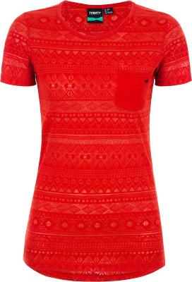 Футболка женская Termit, размер 46Surf Style <br>Яркая удобная футболка termit - отличный выбор для летних приключений. Свобода движений продуманный крой не стесняет движения.