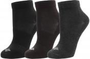 Носки Columbia Flat Knit Quarter, 3 пары