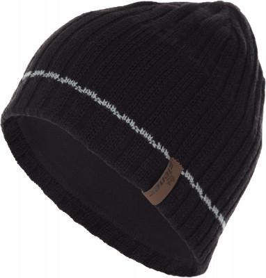 мужская шапка ziener, черная
