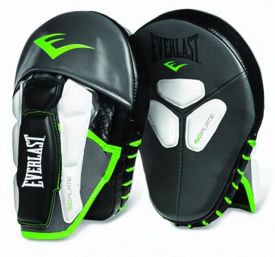 Лапы Everlast Prime MantisЛапы, макивары<br>Prime mantis punch mitts боксерские лапы pro-уровня. Изготовлены из мягкой искусственной кожи с увеличенным запасом прочности.