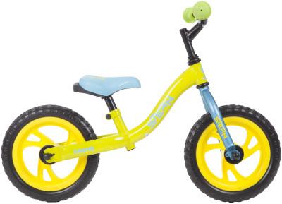 Беговел Stern Kidster alt 12Детский беговел с надежной стальной рамой hi-ten steel научит ребенка держать равновесие и разовьет его моторные способности: ребенок может отталкиваться ножками для движени<br>Материал рамы: Сталь; Амортизация: Rigid; Конструкция рулевой колонки: Неинтегрированная; Конструкция вилки: Жесткая; Диаметр колеса: 12; Тип обода: Одинарный; Материал обода: Пластик; Наименование покрышек: Пенопропилен, 12x2,125; Конструкция руля: Изогнутый; Регулировка седла: Есть; Сезон: 2017; Максимальный вес пользователя: 25 кг; Вид спорта: Велоспорт; Технологии: Hi-ten steel; Производитель: Stern; Артикул производителя: 17KIDSAL; Срок гарантии: 2 года; Вес, кг: 3,5; Страна производства: Китай; Размер RU: Без размера;
