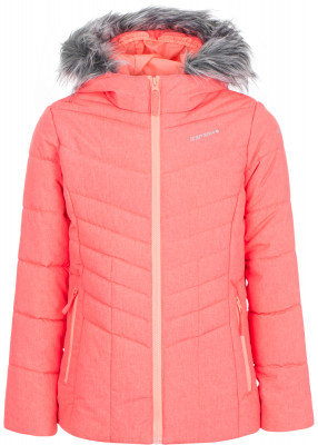 Куртка утепленная для девочек IcePeak RilaКуртка для девочек icepeak rila - удачный выбор для поездок и долгих прогулок.<br>Пол: Женский; Возраст: Дети; Вид спорта: Путешествие; Вес утеплителя на м2: 250 г/м2; Наличие чехла: Нет; Возможность упаковки в карман: Нет; Длина по спинке: 62 см; Водонепроницаемость: 10 000 мм; Паропроницаемость: 5000 г/м2/24 ч; Покрой: Приталенный; Дополнительная вентиляция: Нет; Проклеенные швы: Нет; Капюшон: Не отстегивается; Мех: Отсутствует; Количество карманов: 2; Водонепроницаемые молнии: Нет; Технологии: Children's safety, Icetech 10 000/5 000, Reflectors; Производитель: IcePeak; Артикул производителя: 50124805XV; Страна производства: Китай; Материал верха: 100 % полиэстер; Размер RU: 152;