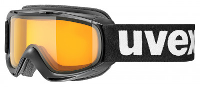 Маска детская Uvex SliderДетская горнолыжная маска с двойными поликарбонатными линзами подойдет для катания в пасмурную погоду, а также при искусственном освещении.<br>Сезон: 2015/2016; Пол: Мужской; Возраст: Дети; Вид спорта: Горные лыжи; Погодные условия: Пасмурно; Защита от УФ: Да; Цвет основной линзы: Оранжевый; Поляризация: Нет; Вентиляция: Да; Покрытие анти-фог: Да; Совместимость со шлемом: Да; Сменная линза: Опционально; Материал линзы: Поликарбонат; Материал оправы: Полиуретан; Конструкция линзы: Двойная; Форма линзы: Цилиндрическая; Возможность замены линзы: Есть; Производитель: Uvex; Технологии: 100% UVA- UVB- UVC-PROTECTION, Supravision; Артикул производителя: 0024.2129; Срок гарантии: 2 года; Страна производства: Германия; Размер RU: Без размера;