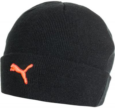 Шапка PumaКлассическая спортивная шапка подойдет для активного отдыха и для использования в прохладную погоду.<br>Пол: Мужской; Возраст: Взрослые; Вид спорта: Спортивный стиль; Производитель: Puma; Артикул производителя: 021109-01; Страна производства: Китай; Материал верха: 100 % акрил; Размер RU: Без размера;