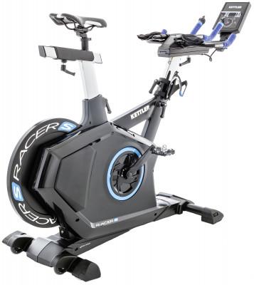 Kettler Racer S 7988-756Велоэргометр поможет восстановиться после травм и укрепить мышцы ног и пресса. Оптимальный выбор для домашних кардиотренировок.<br>Система нагружения: Электромагнитная; Масса маховика: 18 кг; Регулировка нагрузки: Электронная; Нагрузка: 25-1000 Вт (шаг-5 Вт) / 25-600Вт (шаг - 5Вт) в режиме, не зависящем от оборотов; Нагрудный кардиодатчик: В комплекте; Питание тренажера: Сеть: 220В; Максимальный вес пользователя: 130 кг; Время тренировки: Есть; Скорость: Есть; Пройденная дистанция: Есть; Уровень нагрузки: Есть; Скорость вращения педалей: Есть; Израсходованные калории: Есть; Пульс: Есть; Хранение данных о пользователях: Есть (S-Fit APP); Контроль за верхним пределом пульса: Есть; Целевые тренировки (CountDown): Есть; Дополнительные функции: Bluetooth-интерфейс для синхронизации со смартфонами (поддержка Android и iOS), консоль с сенсорным управлением; Пульсозависимые программы: 1 (S-Fit APP); Сиденье: Велосипедное; Регулировка руля: Есть; Регулировка сиденья: Вертикальная/Горизонтальная; Транспортировочные ролики: Есть; Компенсаторы неровности пола: Есть; Дополнительно: Многопозиционный регулируемый руль, регулировка высоты и угла наклона консоли; Размер в рабочем состоянии (дл. х шир. х выс), см: 131 х 53 х 126; Вес, кг: 57 кг; Вид спорта: Кардиотренировки; Производитель: Heinz-Kettler GmbH &amp; CO.KG; Артикул производителя: 07988-756; Срок гарантии: 2 года; Страна производства: Германия; Размер RU: Без размера;