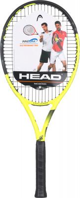 Ракетка для большого тенниса 27 Head IG Challenge LITEЛегкая и управляемая ракетка head отлично подходит для начинающих игроков.<br>Материал ракетки: Графит; Вес (без струны), грамм: 260; Размер головы: 690 кв.см; Баланс: 345 мм; Толщина обода: 23-26-23 мм; Длина: 27; Струнная формула: 16х19; Стиль игры: Защитный стиль; Технологии: Innegra; Производитель: Head; Артикул производителя: 232928; Срок гарантии: 2 года; Страна производства: Китай; Вид спорта: Теннис; Уровень подготовки: Начинающий; Наличие струны: В комплекте; Наличие чехла: Опционально; Размер RU: Без размера;