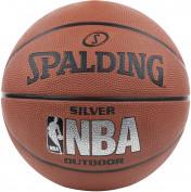 Мяч баскетбольный Spalding NBA Silver