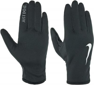 Перчатки мужские Nike RallyУдобные перчатки от nike станут необходимым аксессуаром для пробежек в прохладные дни.<br>Пол: Мужской; Возраст: Взрослые; Вид спорта: Бег; Материалы: 94 % полиэстер, 2 % нейлон, 2 % резина, 2 % силикон; Производитель: Nike; Артикул производителя: N.RG.E7-045; Страна производства: Китай; Размер RU: 6-7;