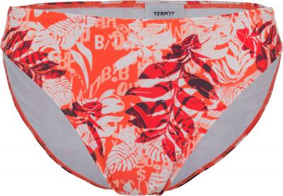 Плавки женские TermitСоздай свое идеальное бикини: яркие плавки от termit созданы для веселого пляжного отдыха. Быстрое высыхание технологичная ткань быстро сохнет.<br>Пол: Женский; Возраст: Взрослые; Вид спорта: Surf style; Устойчивость к хлору: Да; Гипоаллергенная ткань: Нет; Длина по боковому шву: 4,2 см; Материал верха: 80 %полиамид, 20 %эластан; Материал подкладки: 80 %полиэстер, 20 %спандекс; Технологии: creora highclo; Производитель: Termit; Артикул производителя: EWTW01H1XS; Страна производства: Китай; Размер RU: 42;