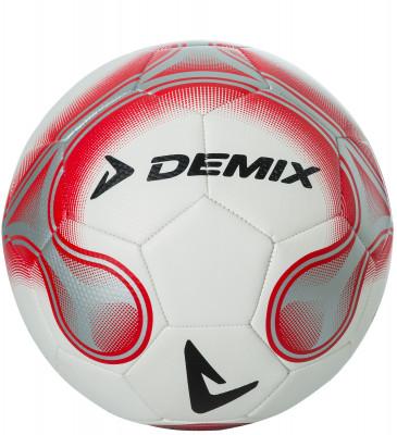 Мяч футбольный DemixЛучший среди равных! Этот футбольный мяч демонстрирует лучшие показатели по сохранению давления, прочности и упругости, благодаря усиленной бутиловой камере.<br>Сезон: 2017; Возраст: Взрослые; Вид спорта: Футбол; Тип поверхности: Для игры на газоне; Назначение: Тренировочные; Материал покрышки: Синтетическая кожа; Материал камеры: Резина; Способ соединения панелей: Машинная сшивка; Количество панелей: 32; Вес, кг: 0,420-0,445; Производитель: Demix; Артикул производителя: S17EDEAT021; Срок гарантии: 6 месяцев; Страна производства: Китай; Размер RU: 5;