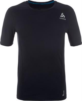 Футболка мужская Odlo CeramicoolТехнологичная футболка oldo охлаждает тело во время физических нагрузок и защищает от вредного солнечного излучения, что делает ее оптимальным выбором для пробежек.<br>Пол: Мужской; Возраст: Взрослые; Вид спорта: Бег; Гигроскопичность: Да; Защита от УФ: Да; Покрой: Зауженный; Плоские швы: Да; Светоотражающие элементы: Да; Дополнительная вентиляция: Да; Материалы: 86 % полиамид, 14 % эластан; Производитель: Odlo; Артикул производителя: 350212; Страна производства: Румыния; Размер RU: 48-50;
