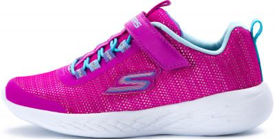 Кроссовки для девочек Skechers Go Run 600-Sparkle Runner, размер 33Кроссовки <br>Удобные и яркие детские кроссовки в спортивном стиле от skechers. Вентиляция верх из сетчатого материала обеспечивает воздухообмен.