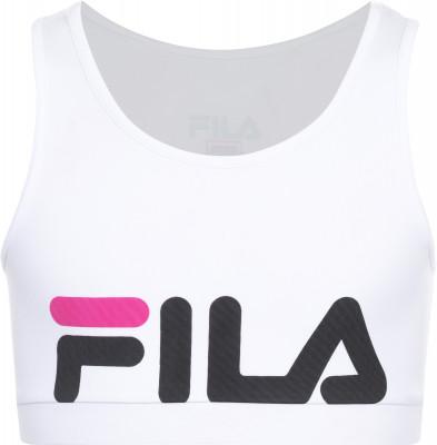 Бра для девочек Fila, размер 140Футболки и майки<br>Бра для девочек от fila подойдет для фитнес-тренировок. Плотная посадка продуманный крой и эластичная ткань для максимально удобной посадки.