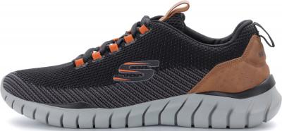 Кроссовки мужские Skechers Overhaul-Landhedge, размер 46,5Кроссовки <br>Мужские кроссовки overhaul от skechers отлично впишутся в гардероб, подобранный в спортивном стиле.