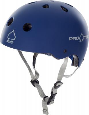 Шлем Pro-Tec Classic Cert MatteТехнологичный шлем pro-tec обеспечивает превосходную защиту во время катания на роликах.<br>Конструкция: Hard shell; Вентиляция: Принудительная; Материал внешней раковины: Hi-Impact ABS; Материал подкладки: Пена EPS; Вес, кг: 0,5; Сертификация: CPSC, CE, ASTM, AS/NZS 2063:2008; Пол: Мужской; Возраст: Взрослые; Вид спорта: Роликовые коньки; Производитель: Pro-Tec; Технологии: EPS, HDPE Flex, Hardshell; Срок гарантии: 2 года; Артикул производителя: 2000010; Страна производства: Китай; Размер RU: 58-60;