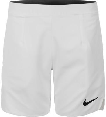 Шорты для мальчиков NikeТеннисные шорты для мальчиков от nike. Свобода движений закругленная нижняя кромка и разрезы по бокам служат для свободы и естественности движений.<br>Пол: Мужской; Возраст: Дети; Вид спорта: Теннис; Материал верха: 100 % полиэстер; Технологии: Nike Dri-FIT; Производитель: Nike; Артикул производителя: 856262-100; Страна производства: Камбоджа; Размер RU: 128-137;