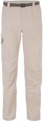 Брюки мужские Columbia Silver RidgeМужские брюки от columbia, выполненные из быстросохнущего нейлона, станут оптимальным выбором для походов и активного отдыха на природе.<br>Пол: Мужской; Возраст: Взрослые; Вид спорта: Походы; Водоотталкивающая пропитка: Нет; Длина по внутреннему шву: 81 см; Силуэт брюк: Прямой; Светоотражающие элементы: Нет; Дополнительная вентиляция: Нет; Количество карманов: 6; Артикулируемые колени: Нет; Материал верха: 100 % нейлон; Материал подкладки: 100 % полиэстер; Технологии: Omni-Shade, Omni-Wick; Производитель: Columbia; Артикул производителя: 14416811603832; Страна производства: Бангладеш; Размер RU: 54-32;