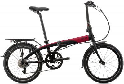 Велосипед складной Tern Link D8Велосипед идеален для передвижения по городу, а при необходимости его легко сложить и взять с собой в общественный транспорт или в личный автомобиль.<br>Материал рамы: Алюминий; Амортизация: Rigid; Конструкция рулевой колонки: Интегрированная; Складная конструкция: Да; Размер в сложенном виде (дл. х шир. х выс), см: 38 x 79 x 72; Конструкция вилки: Жесткая; Количество скоростей: 8; Наименование заднего переключателя: Neos 1.0; Конструкция педалей: Классические; Наименование манеток: SRAM MRX; Конструкция манеток: Вращающиеся ручки; Тип переднего тормоза: Ободной; Тип заднего тормоза: Ободной; Диаметр колеса: 20; Тип обода: Двойной; Материал обода: Алюминиевый сплав; Наименование покрышек: Schwalbe Big Apple; Конструкция руля: Изогнутый; Регулировка седла: Есть; Сезон: 2016; Максимальный вес пользователя: 110 кг; Вид спорта: Велоспорт; Технологии: DoubleTruss, N-Fold, OCL, Physis; Производитель: Tern; Артикул производителя: LINK D8-BR; Срок гарантии: 2 года; Вес, кг: 12,1; Страна производства: Китай; Размер RU: Без размера;
